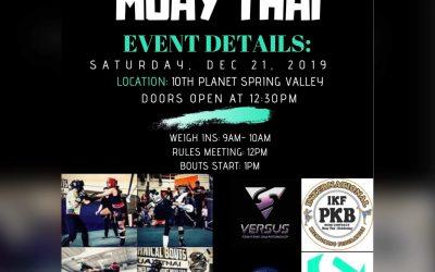 Muay Thai Technical Bouts