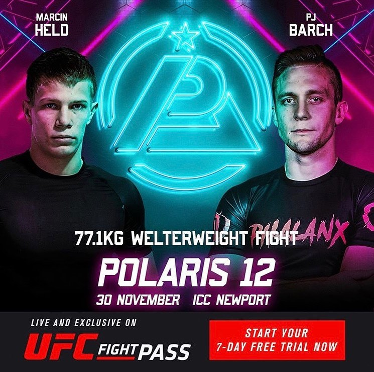 PJ Barch vs Marcin Held set for Polaris 12